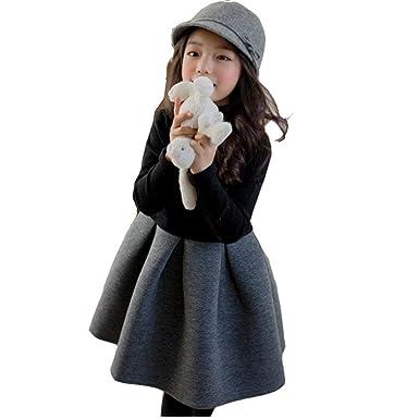 6a6507ab34f6a 子供ドレス ワンピース 厚手 裏起毛 女の子 ドレス ワンピース 入学式 子供 ドレス 女の子 ふわふわ 無地