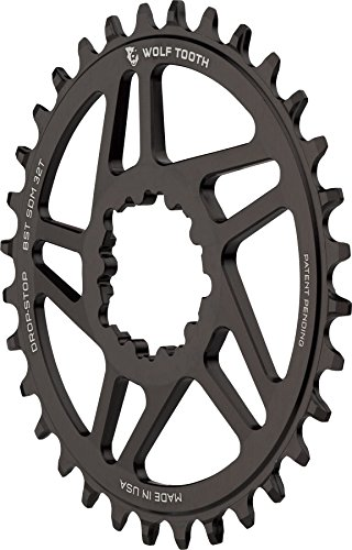 Wolf Tooth Components drop-stop Chainring : 32t、SRAMダイレクトマウント、3 mmオフセット、for Boost Chainline B06XDSYKKQ
