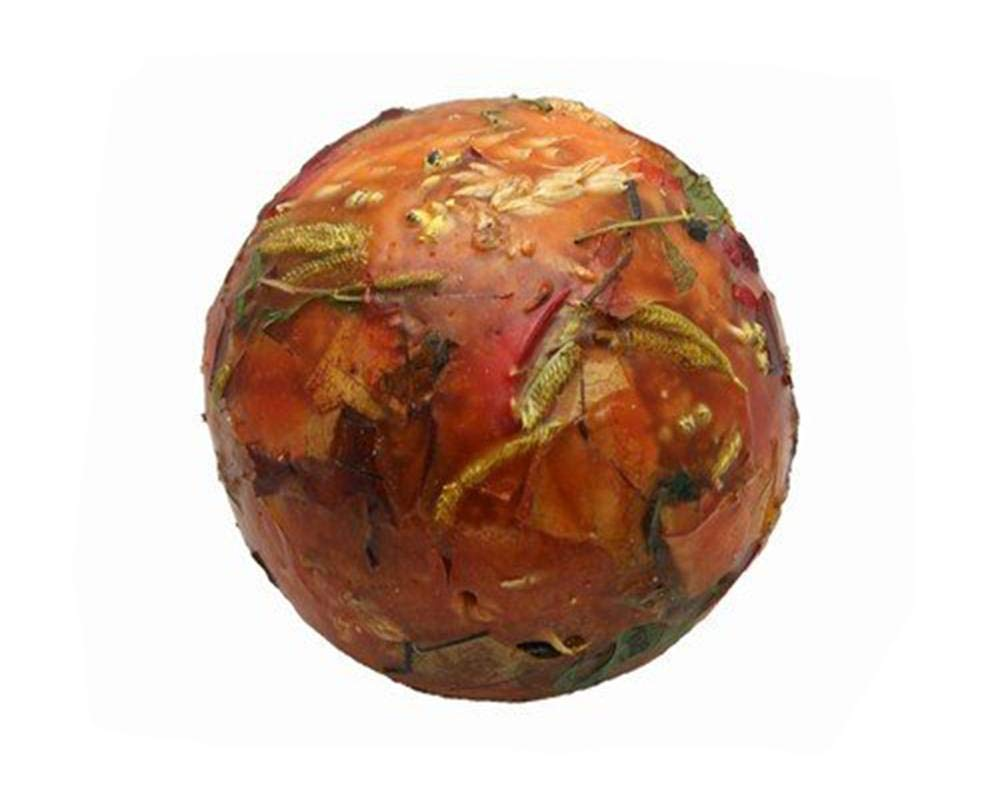 Habersham Candles Wax Pottery Spheres Flameless Fragrance, Harvest Home