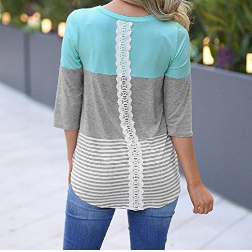 Leedford Hot Sale Women Casual Short Sleeve Flower Printed T-shirt Blouse Tops