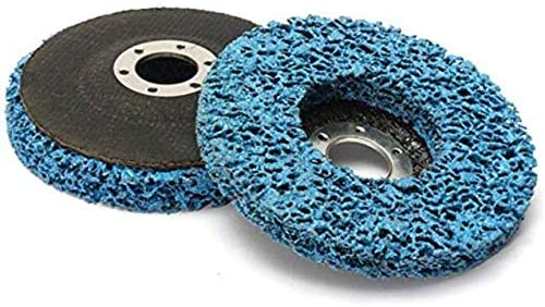 CHUNSHENN 115mm Polcarbide Abrasive Stripping Disc Wheel Abrasive Disc Rust And Paint Removal Grinding and Polishing Abrasive Accessories
