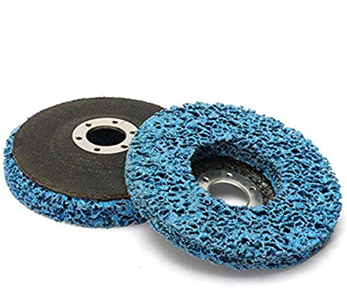 Mokylor 110mm Polycarbide Abrasive Stripping Disc Wheel Rust And Paint Removal Abrasive Disc (Best Paint For Steel Wheels)