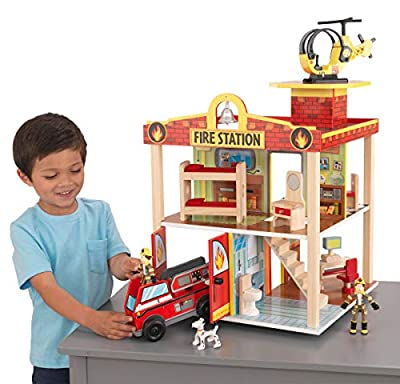 Kidkraft Fire Station Set by KidKraft