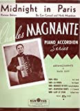 Midnight in Paris: Parisian Bolero. Arranged for Piano Accordion By Charles Magnante.