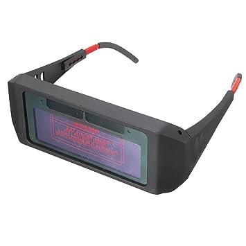 Yeshi oscurecimiento automático máscara de soldadura soldador casco gafas ojos gafas proteger herramienta, negro: Amazon.es: Jardín