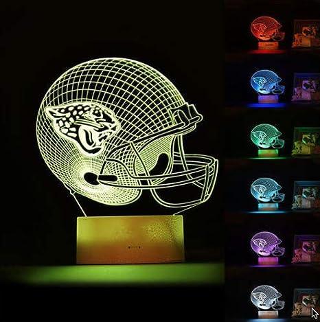 LED Plastic Plug-In Nightlight//Lamp Jacksonville Jaguars Night Light