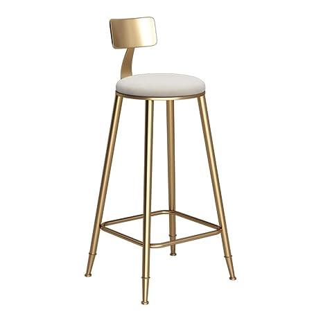 LAXF-taburetes altos cocina sillón Taburete de bar de estilo ...