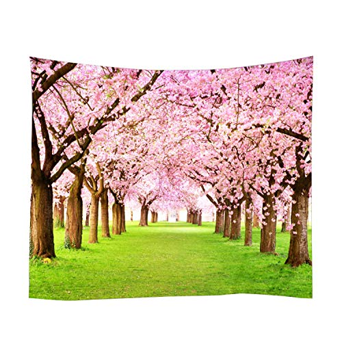 Xch 3D Wall Hanging Tapestry Creative Forest Realistic 3D Tapestry Home Decor Tree Print Wall Art Tapestry Beach Sun Shawl Scarf,S