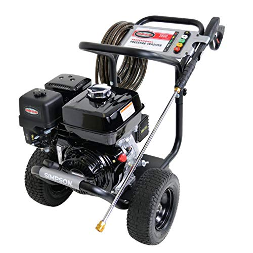 SIMPSON Cleaning PS3835 3800 PSI at 3.5 GPM Gas Pressure Washer