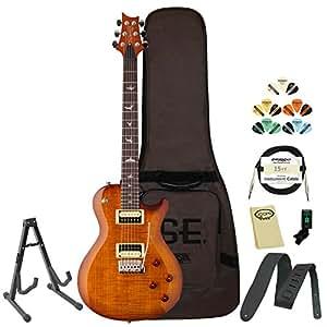 prs se mark tremonti custom vintage sunburst electric guitar with prs gig bag stand. Black Bedroom Furniture Sets. Home Design Ideas