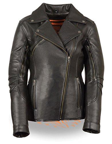 Long Motorcycle Jacket - 2