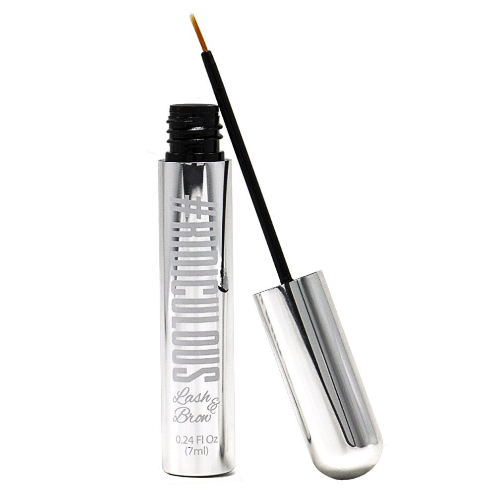 Ridiculous Lash & Brow - Eyelash & Eyebrow Growth Serum   For Fuller, Thicker, More Beautiful Eyelashes & Brows in WEEKS   Tested for Safety & Purity
