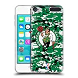 Official NBA Digital Camouflage Boston Celtics Soft Gel Case for Apple iPod Touch 5G 5th Gen