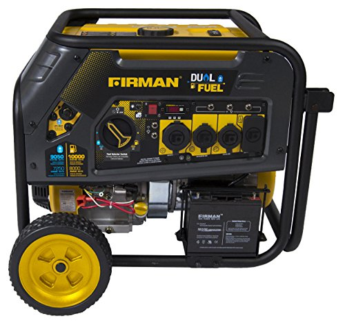FIRMAN H08051 Extended Run Time Generator Electric Start (Generator Cabinet)