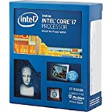 Intel i7-5820K Extreme Hex Core CPU Processor (3.30GHz, 15MB Cache, 140W, Socket 2011-V3, 28 Lanes PCI Express Generation 3)