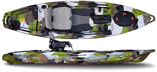FeelFree Lure 11.5 Kayak w/ Sonar and Electronic Pod Lime Camo -  703510633965