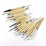 22PCS/Set Clay Sculpture Tool Set Pottery Polymer