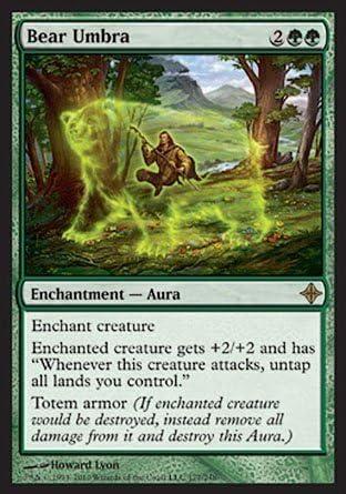SPIDER UMBRA Rise of the Eldrazi MTG Green Enchantment — Aura Com