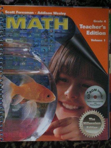 Scott Foresman - Addison Wesley: Math (Grade 4) Teacher's Edition ...