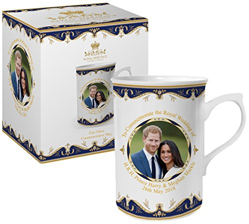 Royal Heritage   Designed In England Lp18072 Commemorative Wedding Mug Gift  White