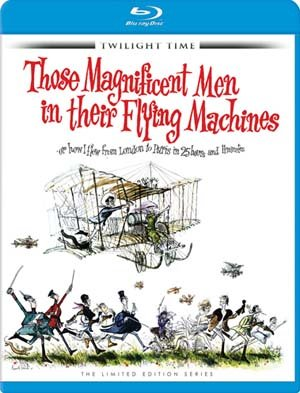 Those Magnificent Men in Their Flying Machines [Blu-ray] by Twilight Time