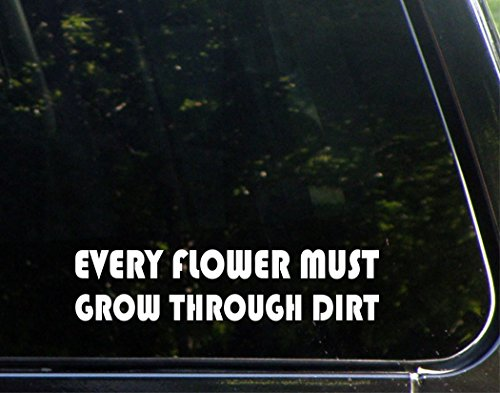 Every Flower Must Grow Through Dirt - 8-1/2