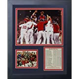 """Legends Never Die""""2013 Boston Red Sox World Series Champions"""" Huddle Framed Photo Collage, 11 x 14-Inch"""