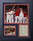"""Legends Never Die """"2013 Boston Red Sox World Series Champions"""" Huddle Framed Photo Collage, 11 x 14-Inch"""