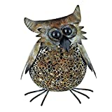 TWINE Perfect Wine Lover Gift, Metal Cork Holder - Vintage Owl