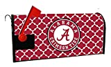 ALABAMA CRIMSON TIDE MAILBOX COVER-UNIVERSITY OF ALABAMA MAGNETIC MAIL BOX COVER-MOROCCAN DESIGN