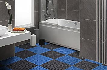 Amazon incstores soft flex floor tiles 12 pack 12in x 12in incstores soft flex floor tiles 12 pack 12in x 12in for showers locker ppazfo