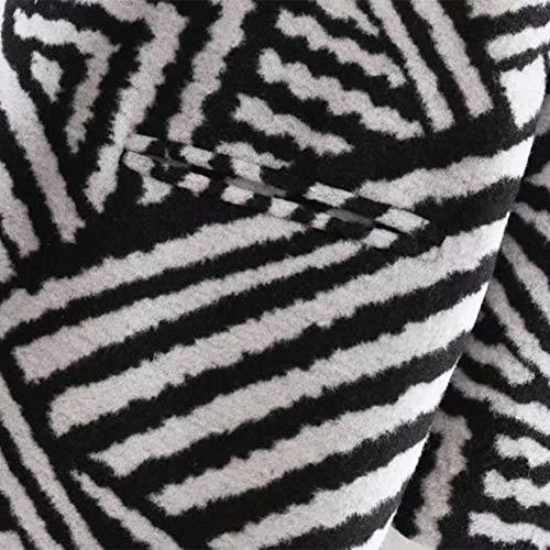 sans hiver femmes au et revers section garder chaud lisse Zyg manches gg boucle poilu pour longues doux à moyenne Manteau automne nwna0CqxvP