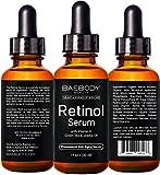 Baebody Retinol Serum for Face, Professional Anti-Aging Topical Facial Serum, Anti-Wrinkle & Reduce Fine Lines, Clinical Strength Organic Ingredients w Vitamin E, Hyaluronic Acid, Jojoba Oil 1oz