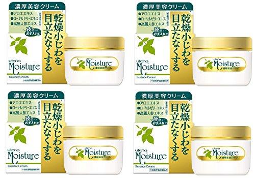 [Bulk purchase] Utena Moisture Essence Cream EX (concentrated beauty cream) 60g x 4