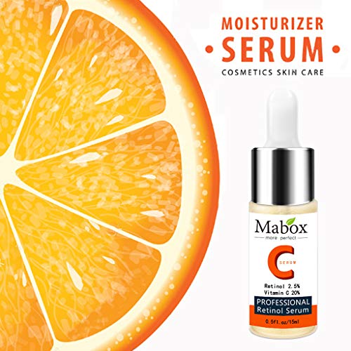 Vitamin C Serum For Face Topical Facial Serum With Hyaluronic Acid Vitamin