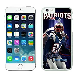 New England Patriots Kyle Arrington Case For iPhone 6 White 4.7 inches