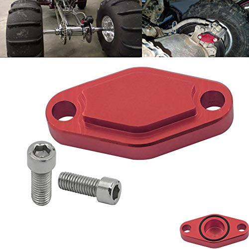 Motoparty Parking Brake Block Off Plate For Polaris Outlaw Phoenix Predator Scrambler Trail Blazer/Boss Sportsman RZR 50 90 110 170 250 325 330 400 450 500 525 2X4 4X4 Parking Brake Caliper Cover