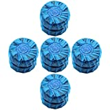 Automatic Toilet Bowl Cleaner, Bleach and Blue, Rain Clean Scent, 50g, 10 Count in One Pack.