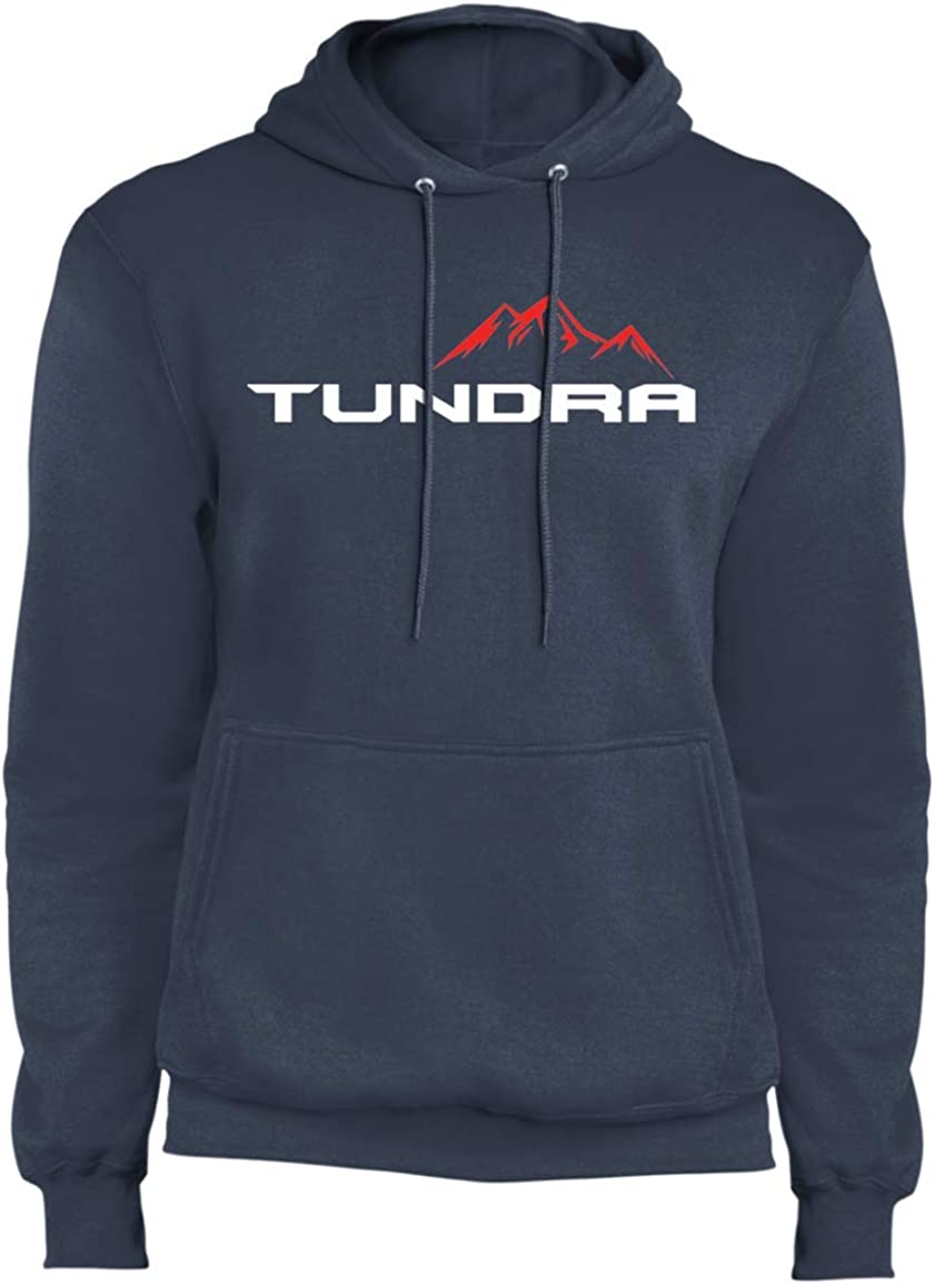 WheelSpinAddict Mens Tundra TRD SR5 Sport Limited Fleece Pullover Hoodie