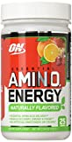 Optimum Nutrition Naturally Flavored Amino Energy With Green Tea and Green Coffee Extract; Preworkout and Amino Acids; Simply Fruit Punch 25 Servings,