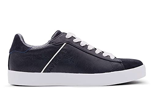 ad37f04c301b00 Navigare Sneakers Uomo Blu Pelle (44): Amazon.it: Scarpe e borse