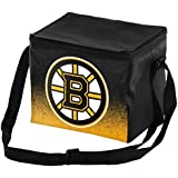 NHL Hockey Team Logo - Gradient Print - Lunch Bag Cooler - Holds up to a 6 Pack
