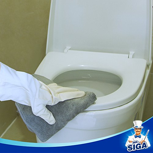 MR. SIGA Microfiber Cleaning Cloth, Pack of 12, Size: 15.7'' x 15.7'' by MR.SIGA (Image #3)