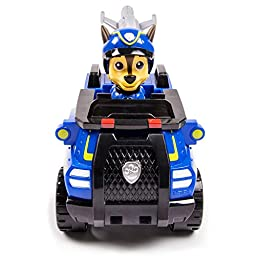 Paw Patrol Chase\'s Spy Cruiser, Vehicle and Figure (works with Paw Patroller)