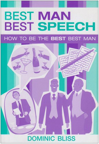 Best Man Best Speech by New Holland Publishers Ltd