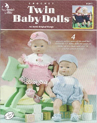 Crochet Twin Baby Dolls