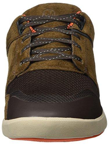 Merrell Freewheel Infuse Lace, Sneaker Uomo Marrone (Dark Earth)