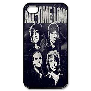 Creative Design Life 8 All Time Low Fashion Cover Hard Plastic Case For iPhone 4/4S