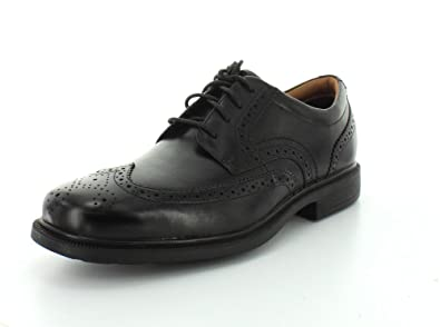 Rockport Men's DresSports Luxe Wingtip Oxford,Black Leather,US 14 M
