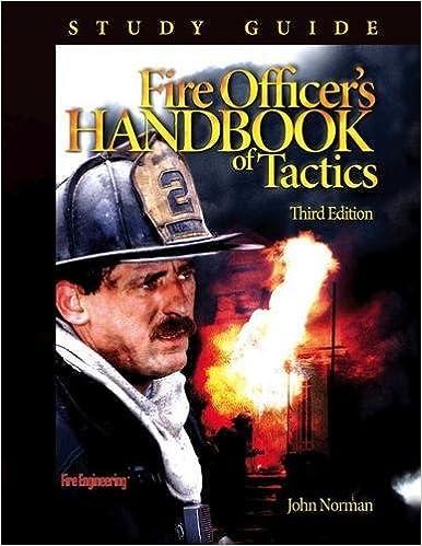 fire officer s handbook of tactics study guide john norman